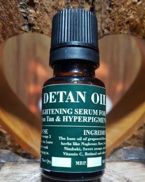 Detan Oil, Triaanyas health Mantra, Purnima bahuguna, Top Organic product company in India