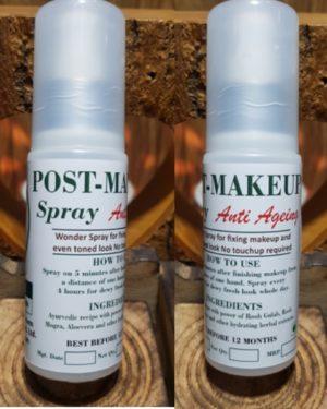 Post Makeup Spray anti aging Triaanyas health Mantra, Purnima bahuguna, Top Organic product company in India, Handmade Product, Rooh Gulab, Rooh Mogra, Aloevera