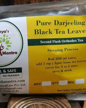 Pure Darjeeling Black Tea Triaanyas, Top Organic product company in India, Triaanyas Health Mantra, Purnima Bahuguna