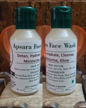 Apsara Face Wash 100ml Triaanyas health Mantra, Purnima bahuguna, Top Organic product company in India,