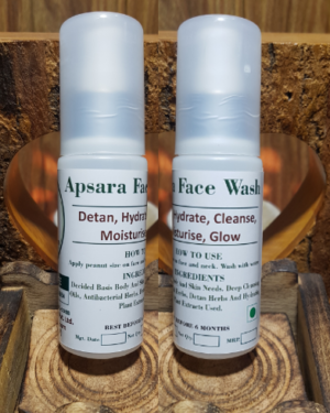 Apsara Face Wash 50ml Triaanyas health Mantra, Purnima bahuguna, Top Organic product company in India,
