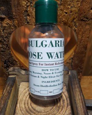 Bulgarian Rose water 100ml Triaanyas health Mantra, Purnima bahuguna, Top Organic product company in India,