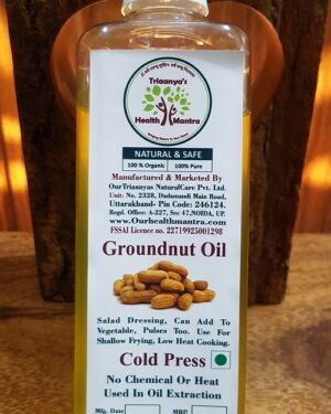 ground nut oil Triaanyas health Mantra, Purnima bahuguna, Top Organic product company in India