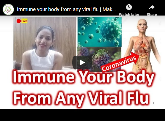 Immune your body from any viral flu. Fight flu Naturally
